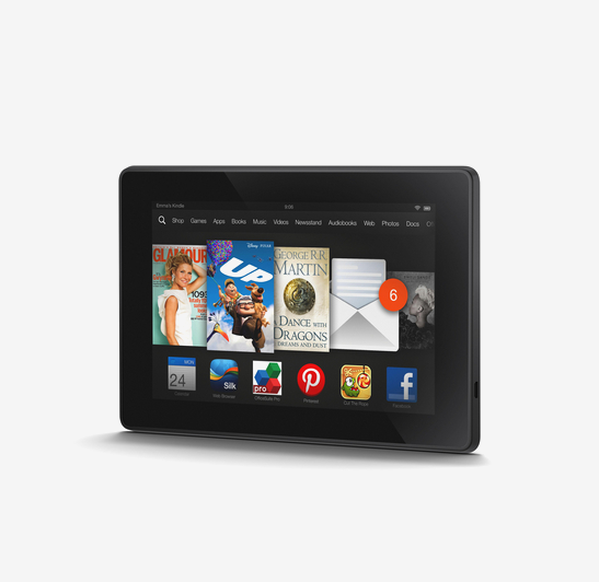 "KINDLE New Fire HD 7"" Tablet - 16 GB"