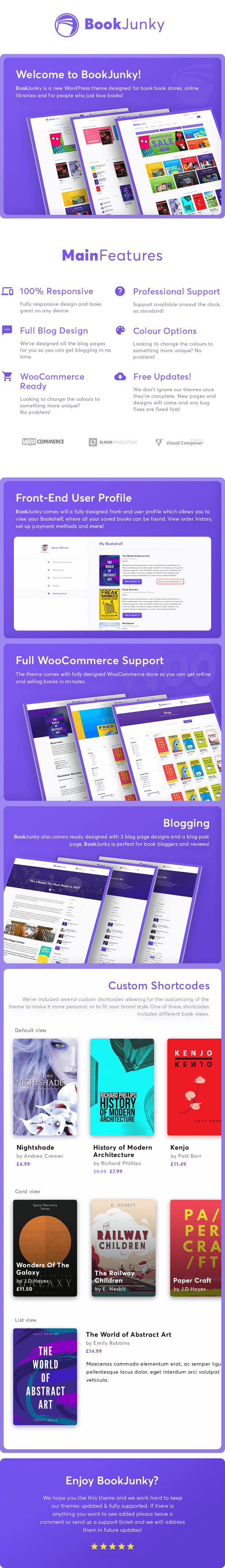 BookJunky - WooCommerce Book Store for WordPress bookjunky - woocommerce book store for wordpress (woocommerce) BookJunky – WooCommerce Book Store for WordPress (WooCommerce) mainpreview