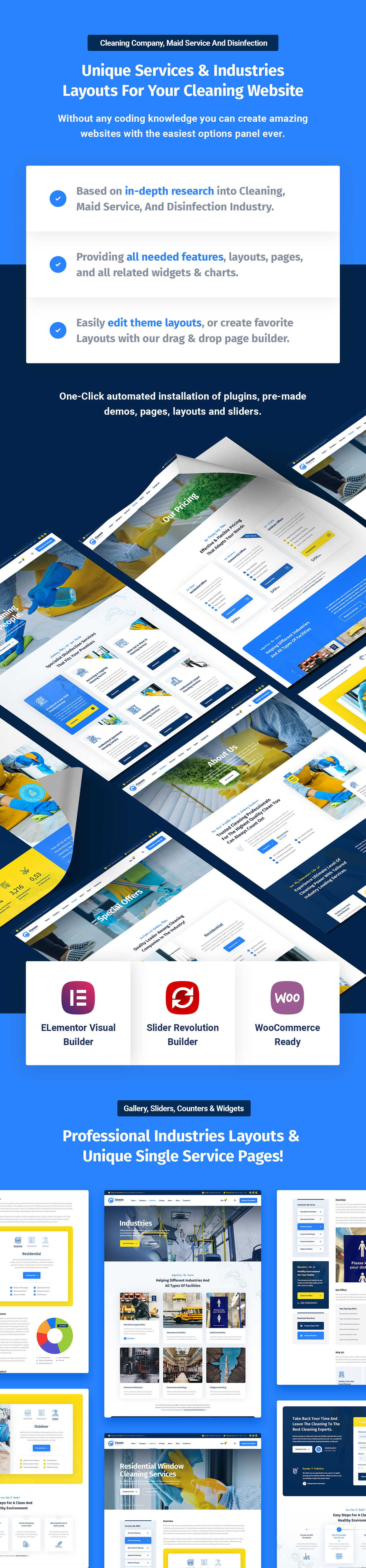 Clanora - Cleaning Services WordPress Theme - 6