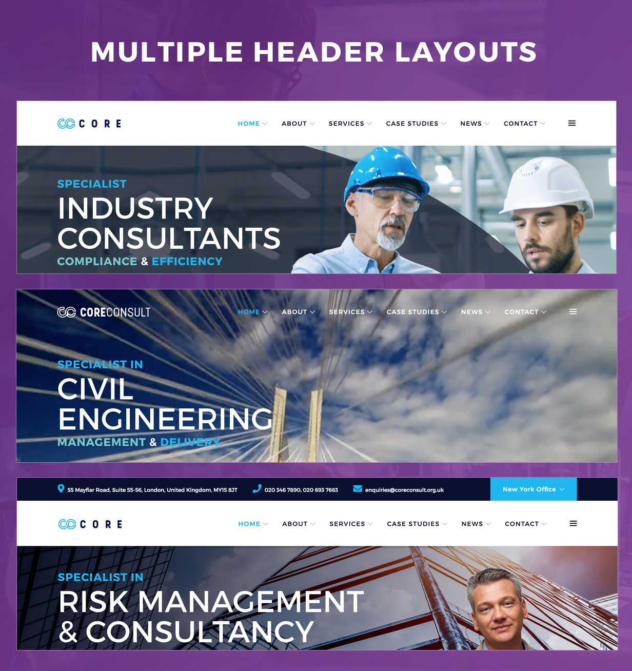 Coreconsult - Big Industry & Business Consulting WordPress Theme - 4