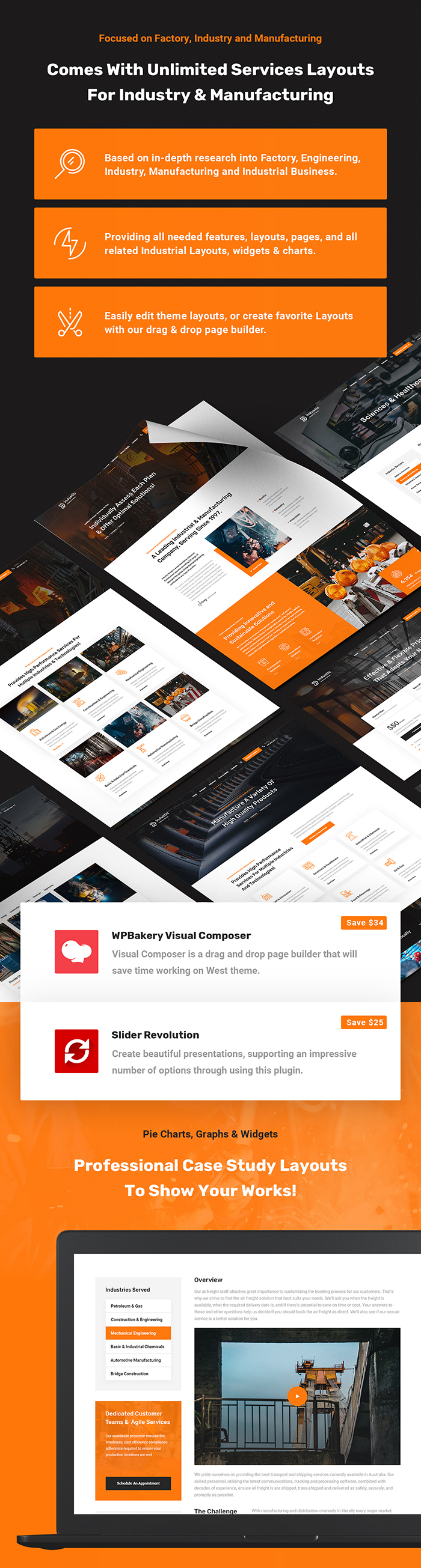 Industic - Industry and Manufacturing WordPress Theme - 3