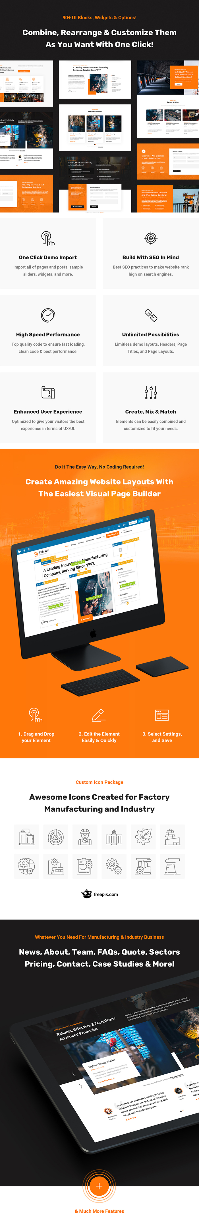 Industic - Factory and Manufacturing WordPress Theme - 4