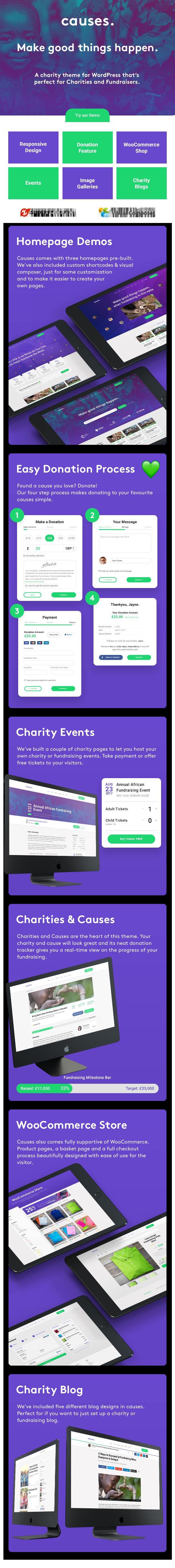 JustGive - Charity & Fundraising WordPress Theme