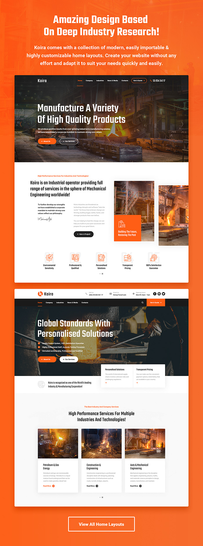 Koira - Industry and Manufacturing WordPress Theme - 2