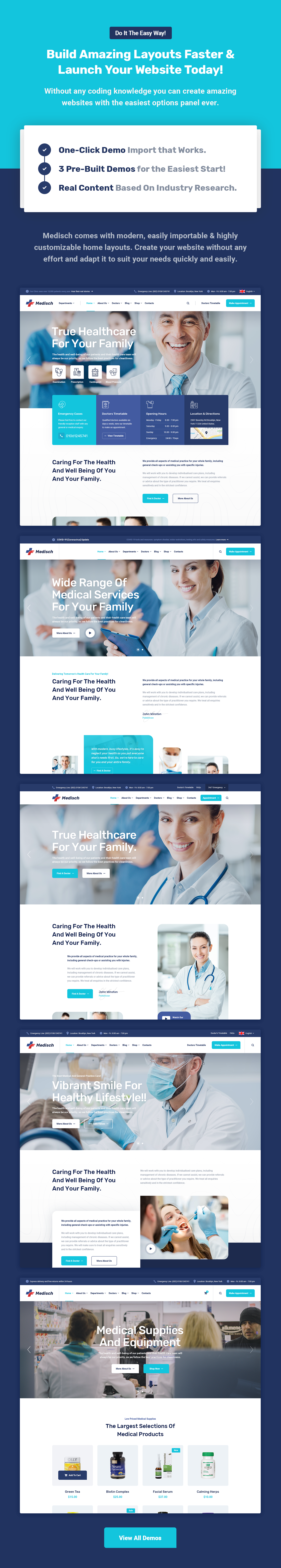 Medisch - Health & Medical WordPress Theme - 5