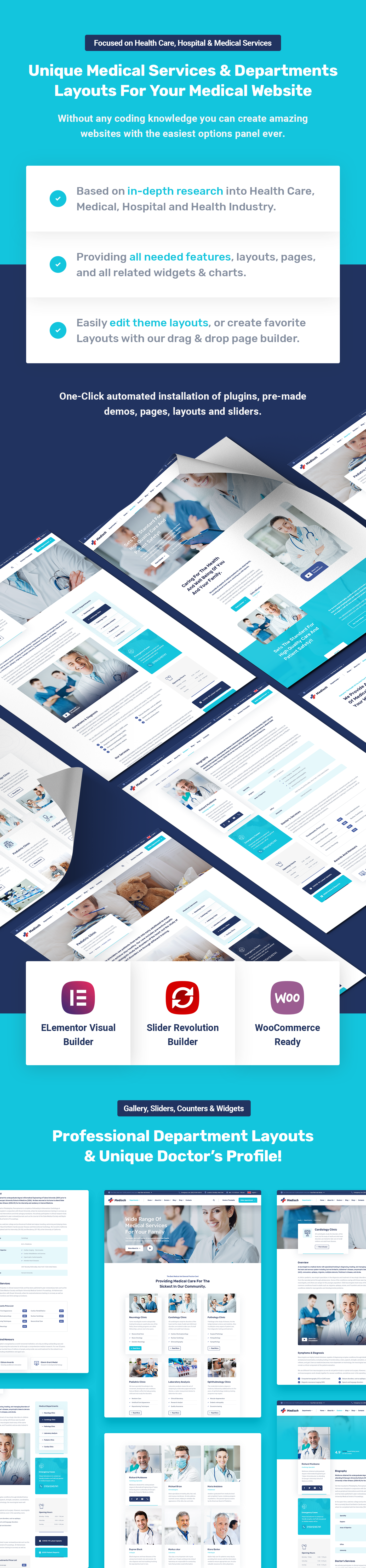 Medisch - Health & Medical WordPress Theme - 6