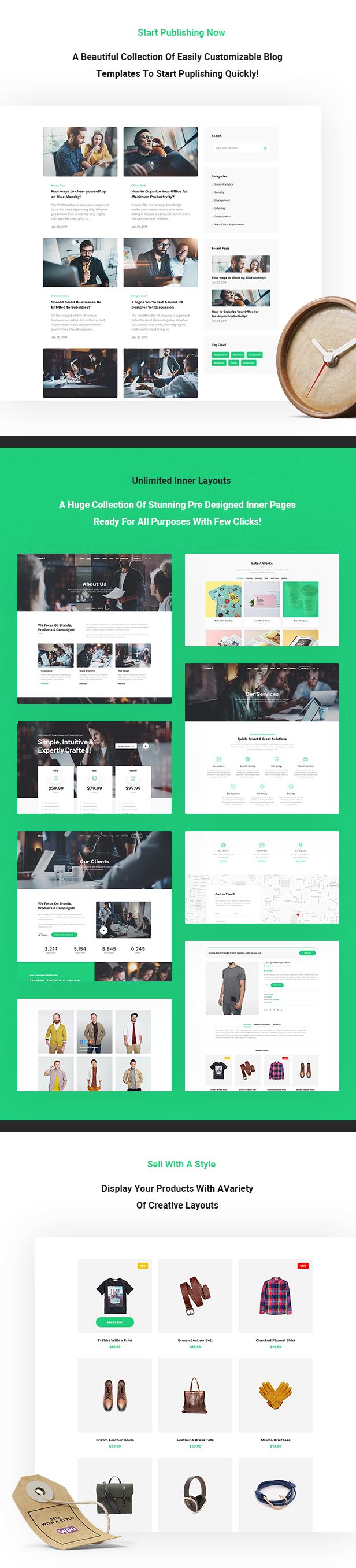 Mori - Business Corporate WordPress Theme - 5
