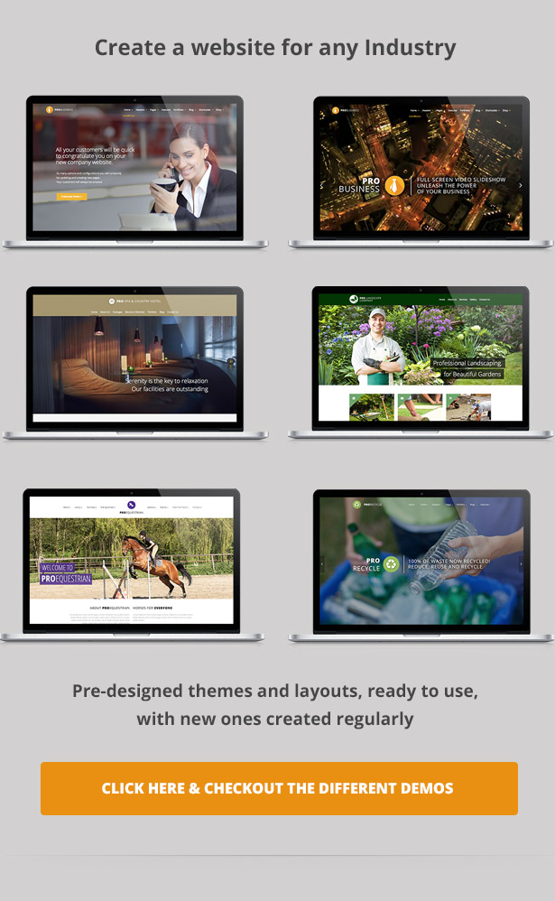 PRO Business - Responsive Multi-Purpose Theme - 4