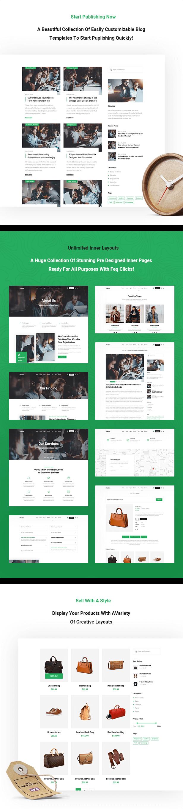 Startus - Multipurpose Business WordPress Theme - 2