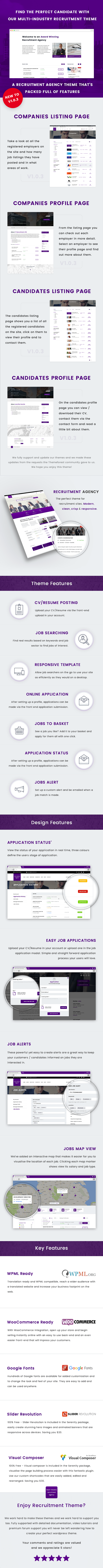 Recruitment Agency | Multi Industry WordPress Theme