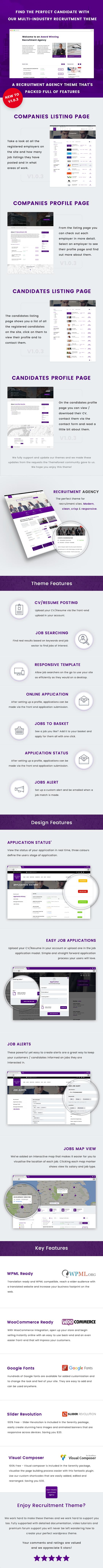 Recruitment Agency - Multi Industry Responsive WordPress Theme Download