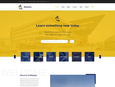 Diplomia | Education WordPress Theme