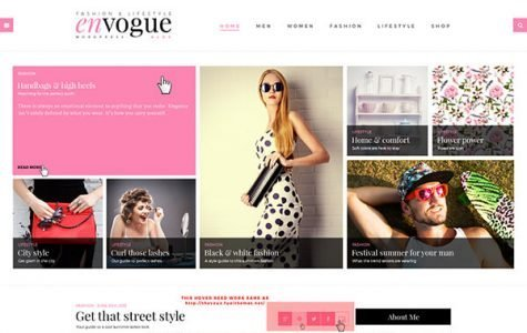 EnVogue   Fashion & Lifestyle Blog WordPress Theme
