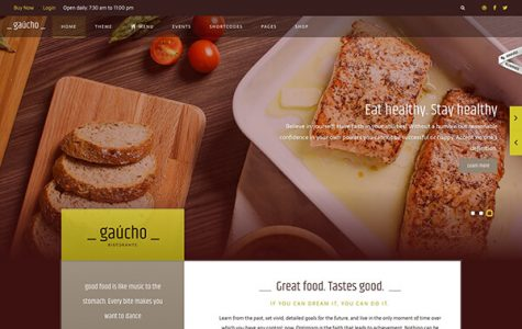 Gaucho | Food Restaurant WordPress Theme