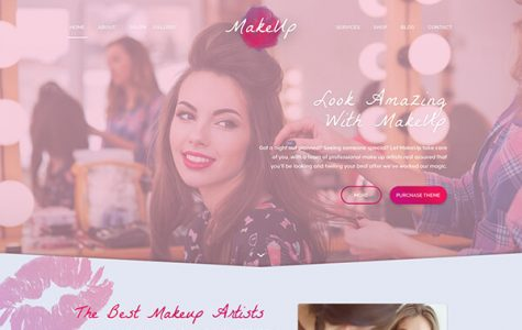 MakeUp | Makeup Beauty WordPress Theme