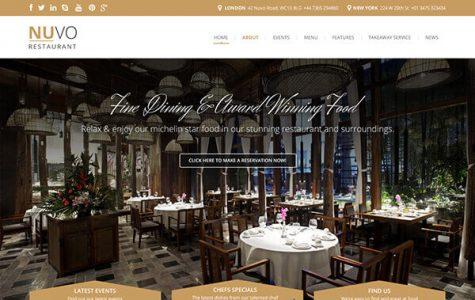 NUVO | Cafe & Restaurant WordPress Theme