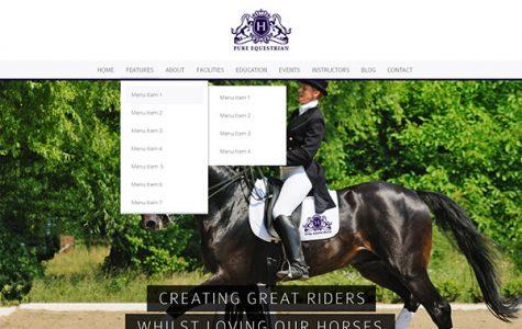 Pure Equestrian | Equestrian WordPress Theme