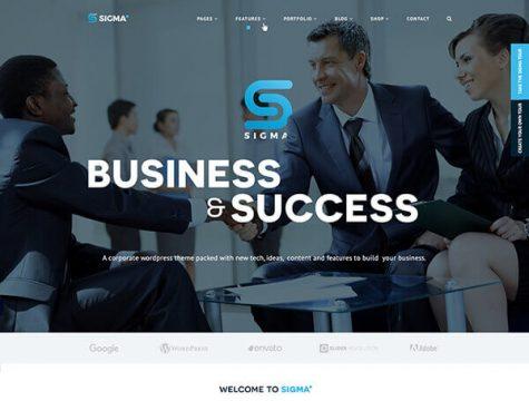 SIGMA | Business WordPress Theme
