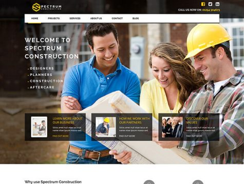 Spectrum | Multi-Trade Construction Business Theme