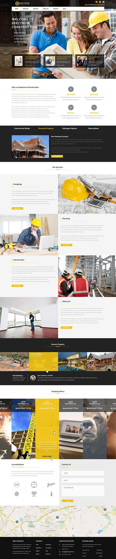 Spectrum   Multi-Trade Construction Business Theme