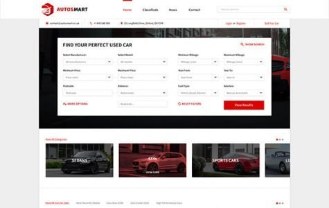 AutosMart | Automotive Car Dealer WordPress Theme