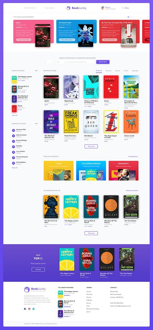 BookJunky | WooCommerce Book Store for WordPress