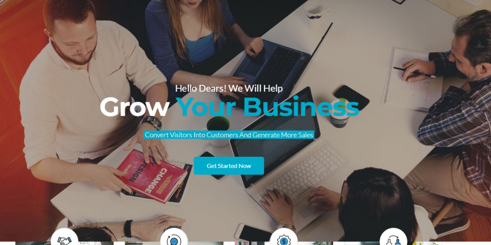 Professional Business & Financial WordPress Theme