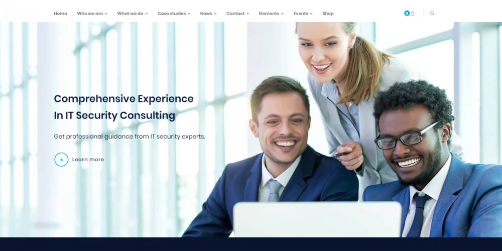 Multi Niche Consulting WordPress Theme